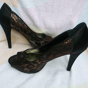 Style & Co leopard print pumps